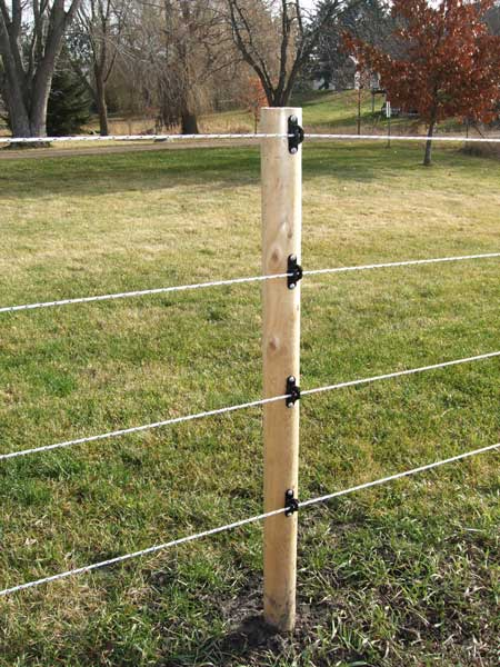 Fully electric fence