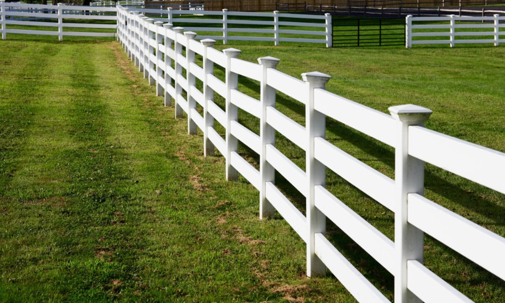 PVC and plastic fencing