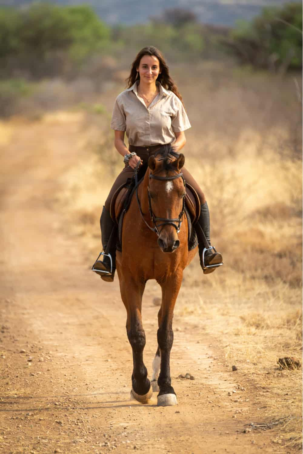Ride your horse regularly